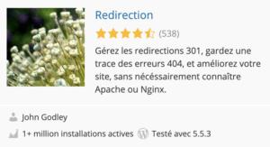 le meilleur plugin wordpress pour les redirections