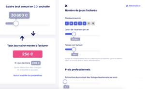 simulateur de revenus pour freelances
