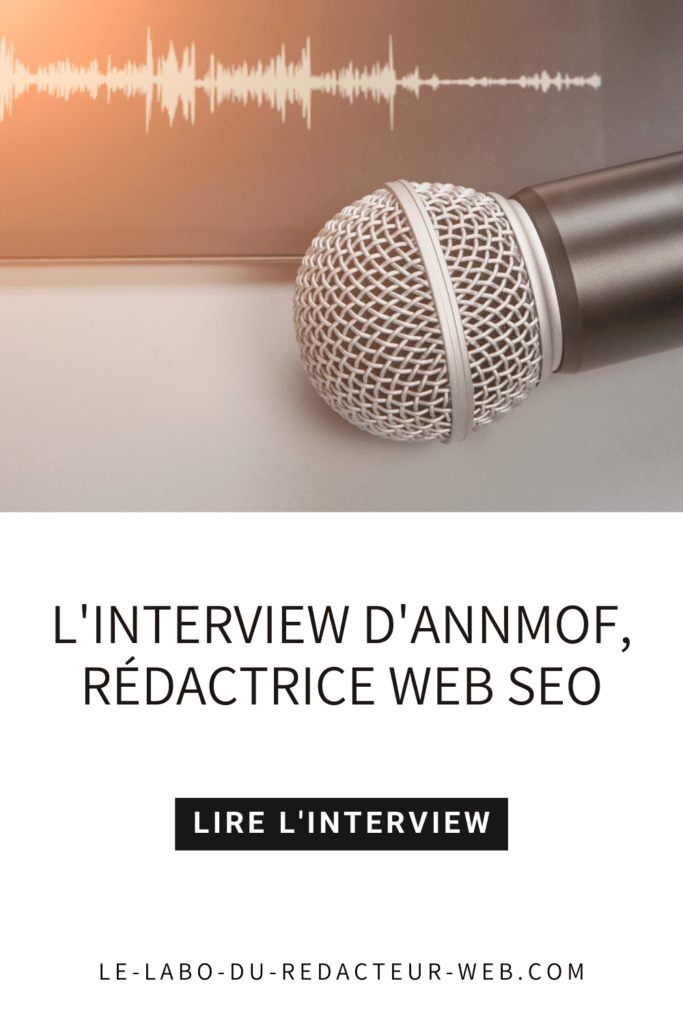 l'interview d'annmof, redactrice web seo