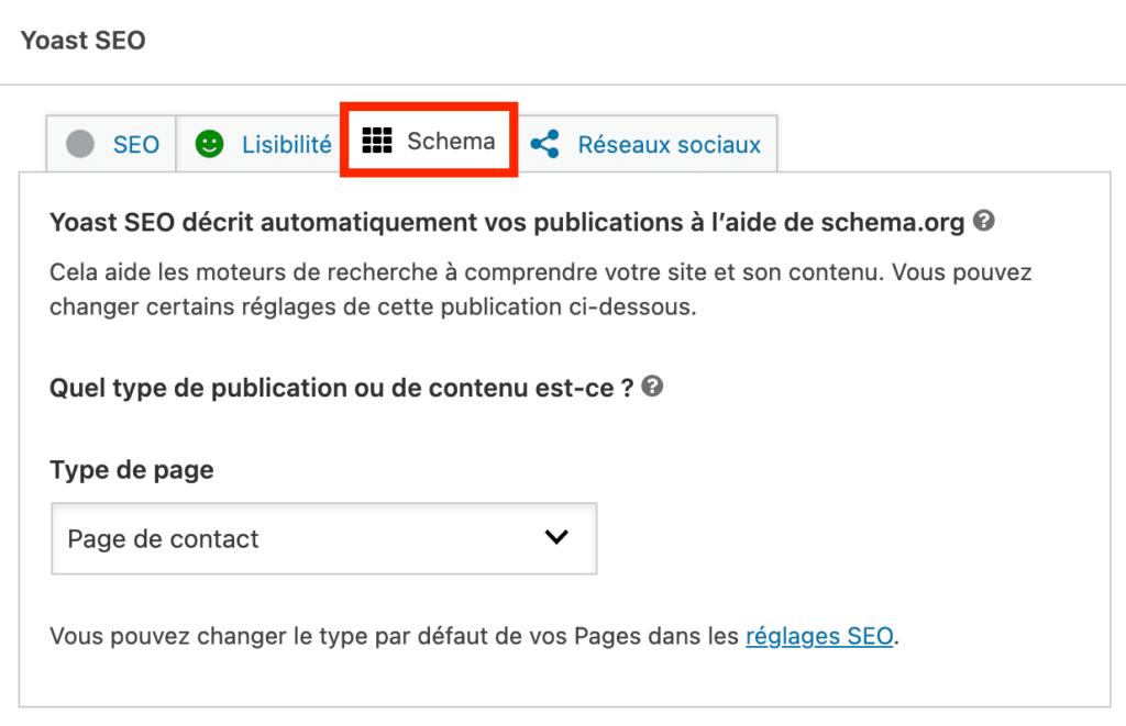 modification schema.org avec yoast seo