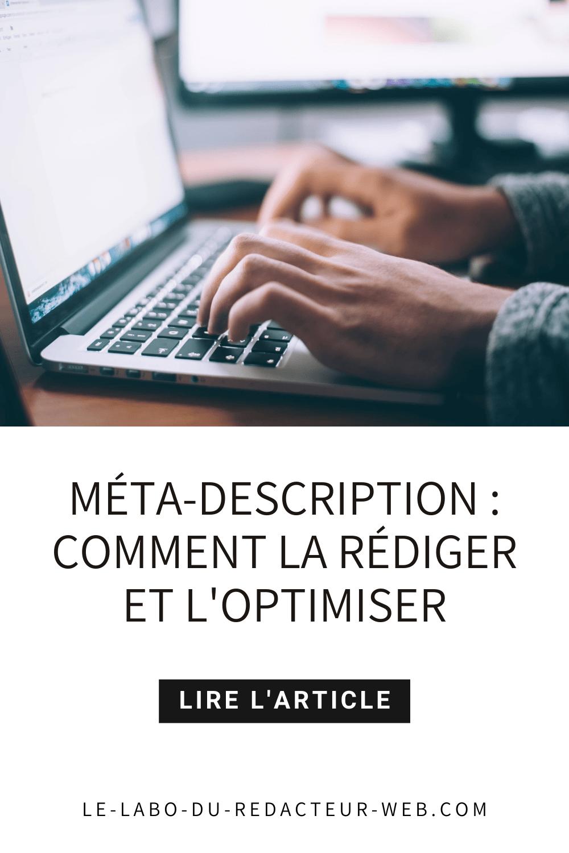 comment rediger et optimiser la meta description