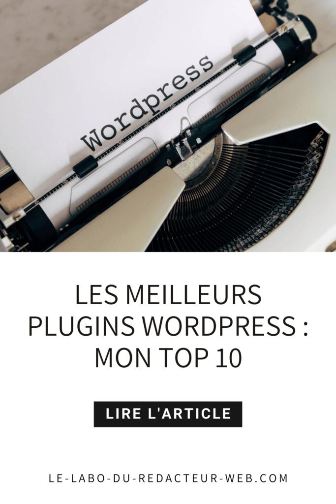mon top 10 des meilleurs plugins wordpress gratuits (+bonus)