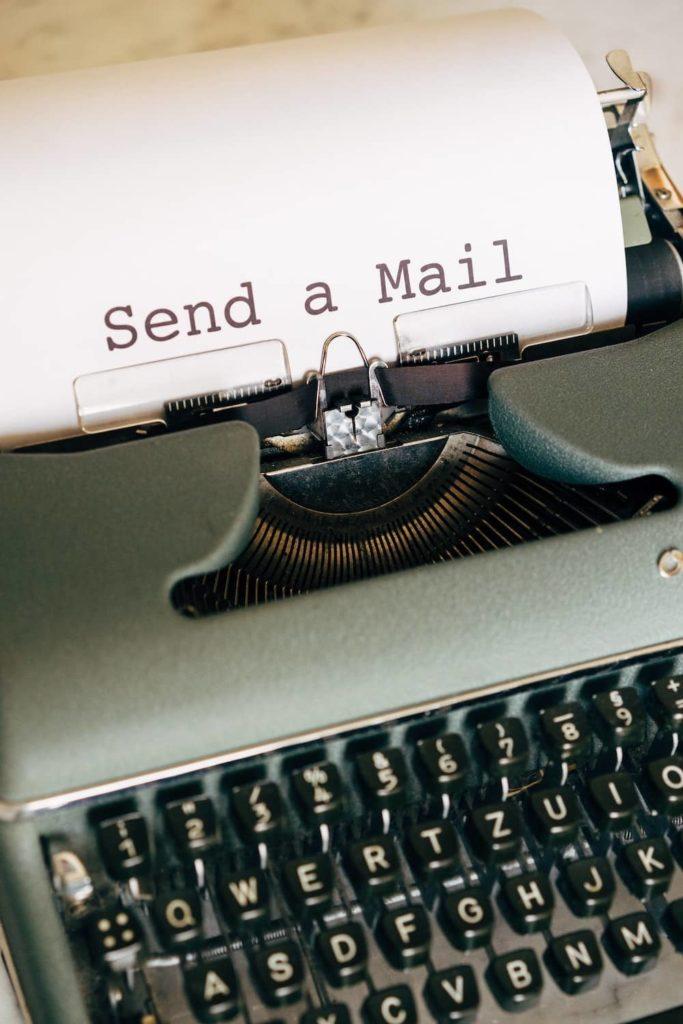 envoyer des newsletters aux contacts de votre liste mail